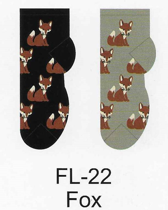 Fox No Show Socks  FL-22