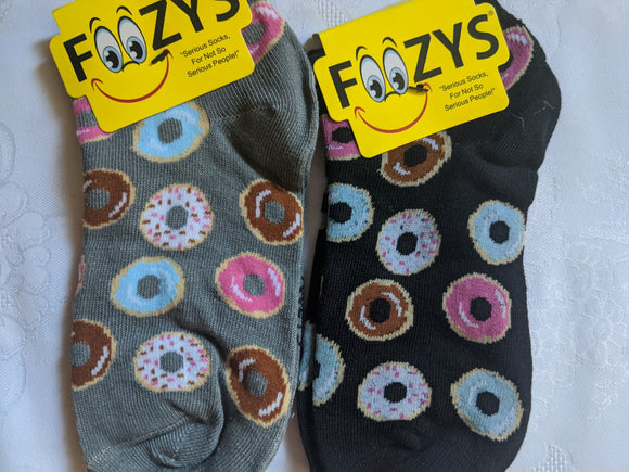 Mini Donuts No Show Socks   FL-27
