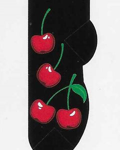 Cherries No Show Socks   FL-29