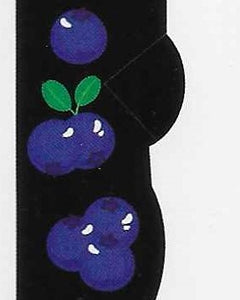 Blueberries No Show Socks   FL-32