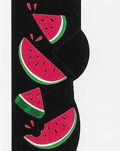 Watermelon No Show Socks   FL-34