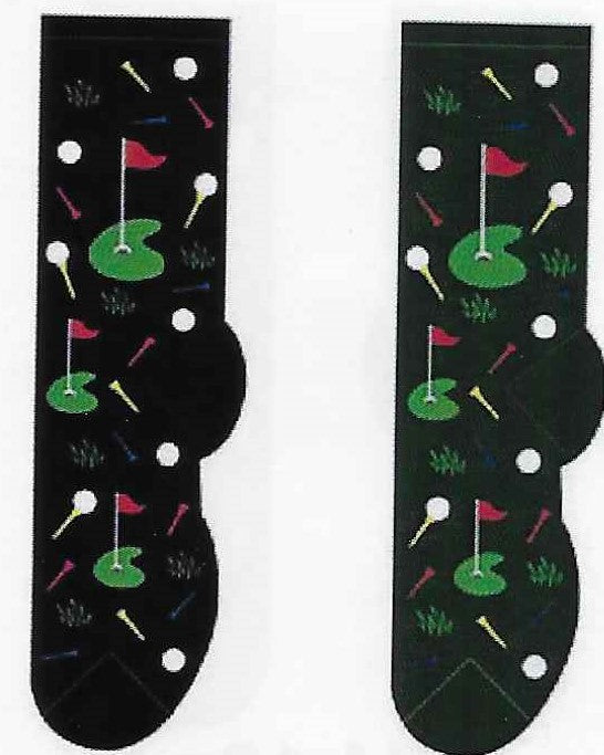 Golf Men's Socks  FM-03