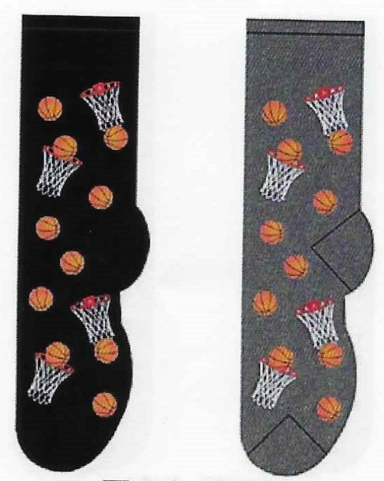 Basketball Men's Socks   FM-06