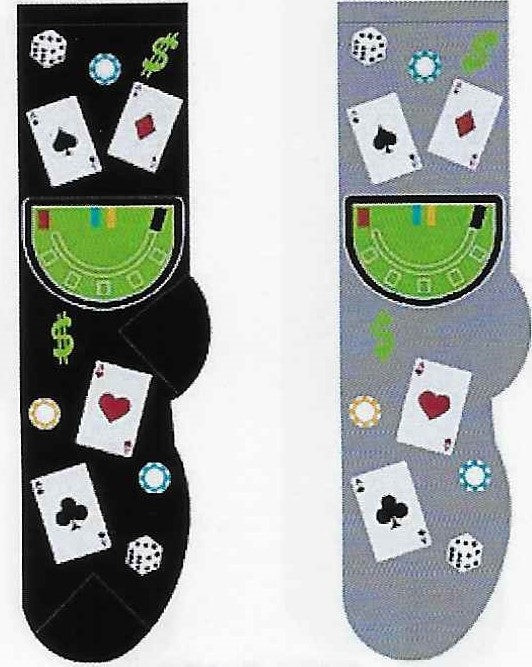 Blackjack Men's Socks   FM-11
