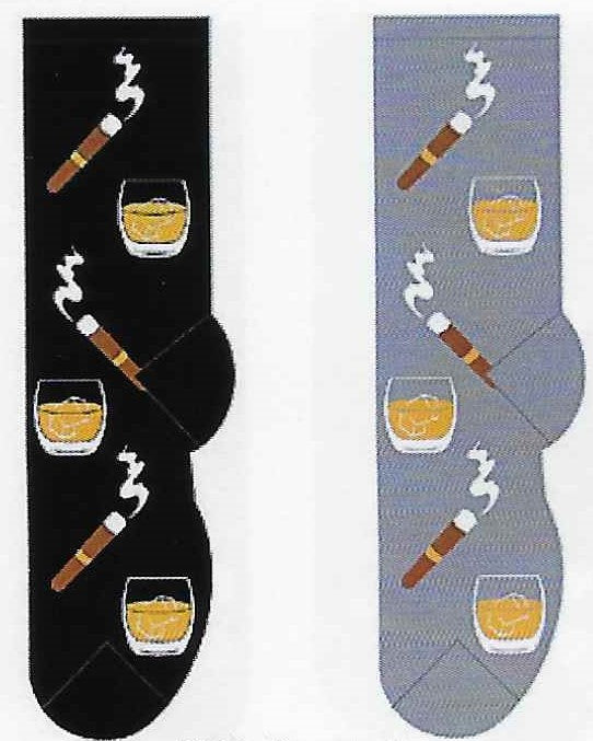 Scotch & Cigars Men's Socks FM-12