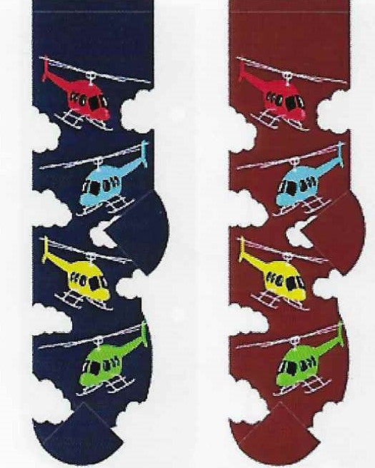Helicopter Men's Socks  FM-33