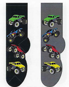 Monster Trucks Men's Socks  FM-34