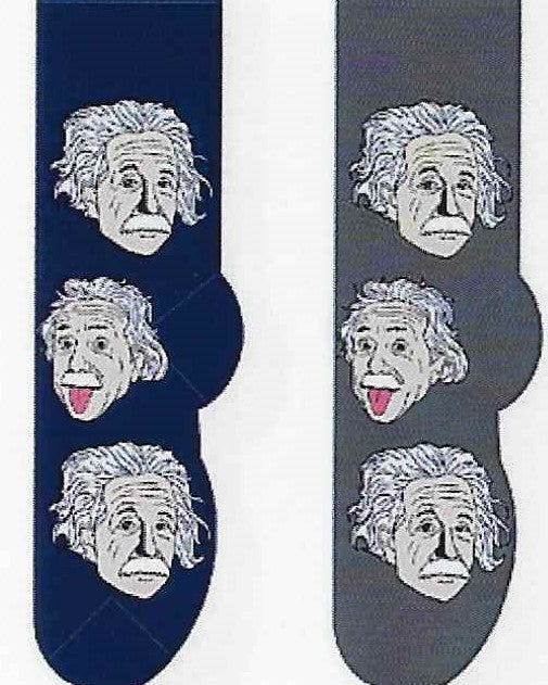 Albert Einstein Men's Socks   FM-38
