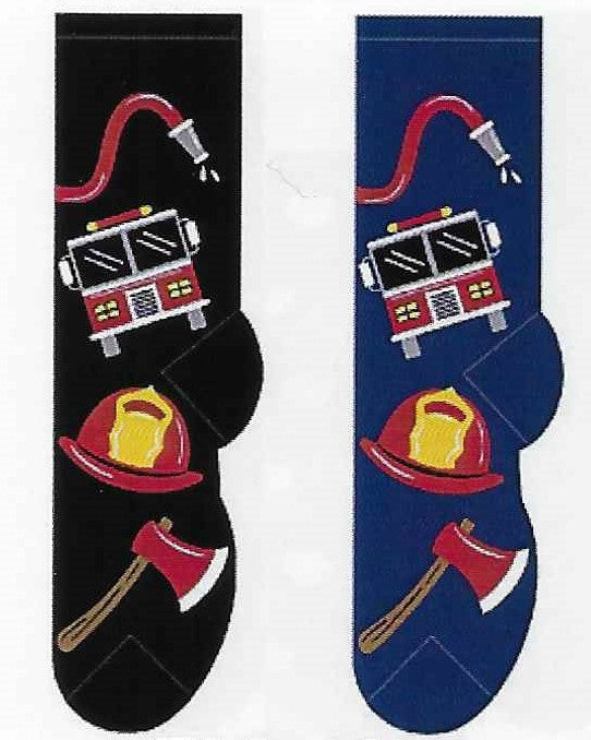 Firemen Firefighter Men's Socks  FM-40