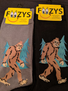 Big Foot / Sasquatch Men's Socks  FM-56