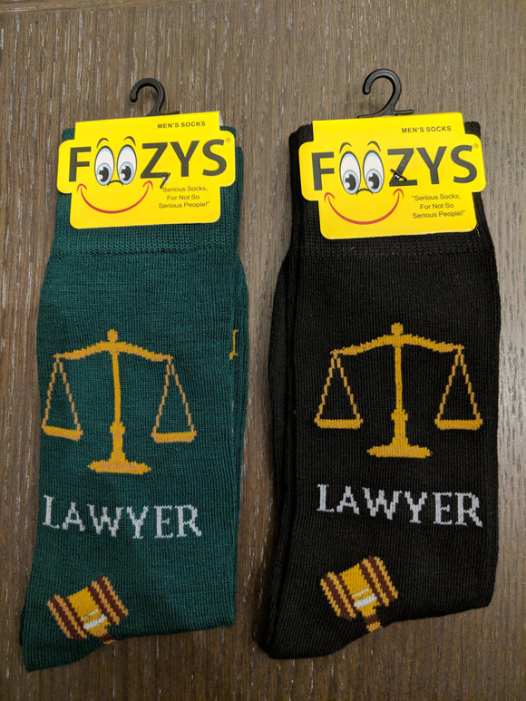 Lawyer Attorney Socks  FM-42