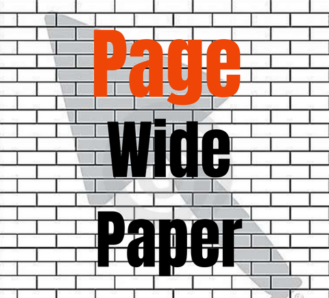 Page Wide HP Paper Products