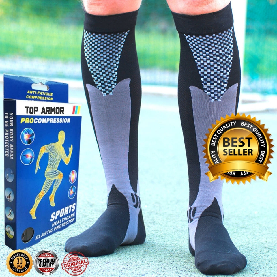 Top-Armor Graduated Compression Socks 20-30mmHg(5PairsMIX)