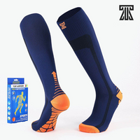 Top Armor 20-30mmHg Compression Socks - 3x Pairs