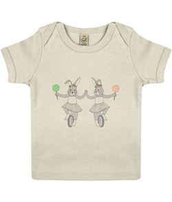 The Twin Sisters - Baby Lap T-shirt