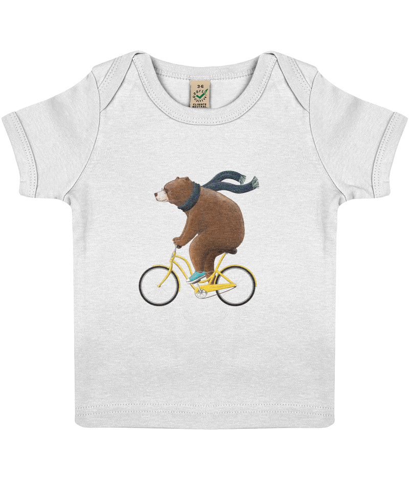 The Explorer - Baby Lap T-shirt