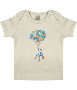 The Curious Fox - Baby Lap T-Shirt