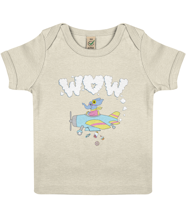 The Benevolent Elephant - Baby Lap T-shirt
