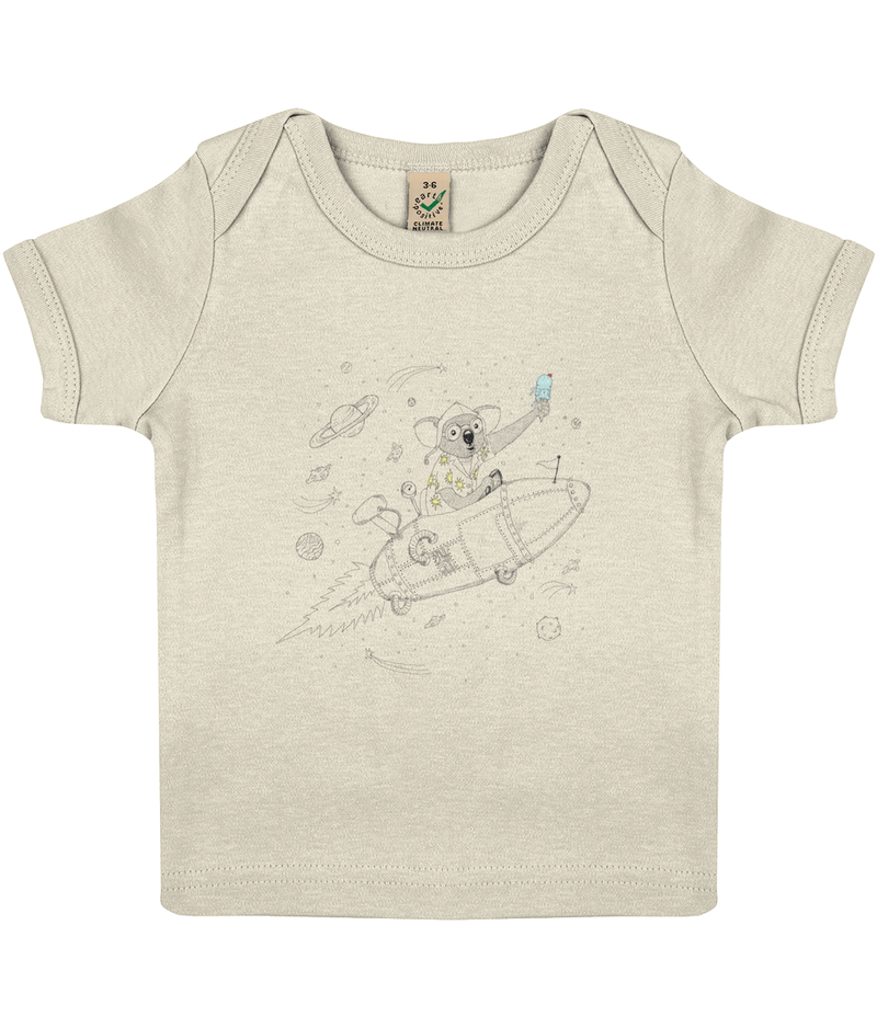 The Wingman - Baby Lap T-shirt