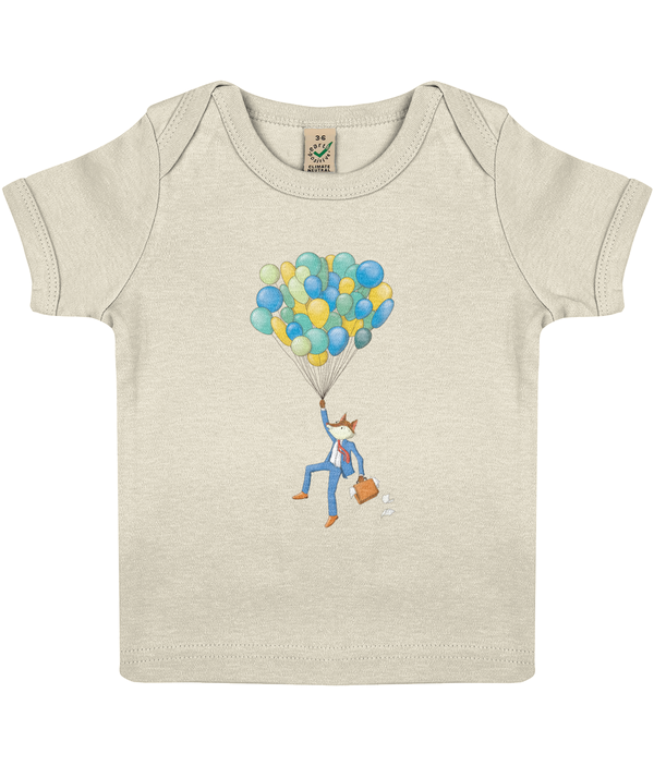 The Curious Fox-Baby Lap T-Shirt