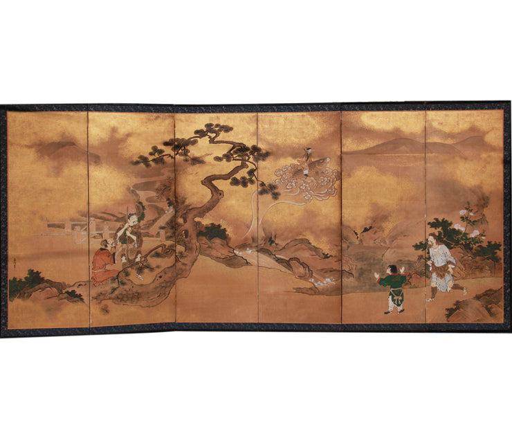 Chinese panel screen