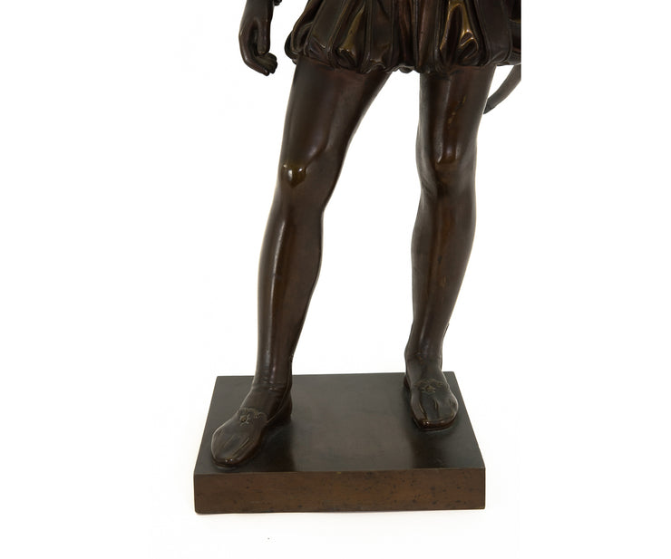 Antique French 19th Century Bronze Statue of Young Henri IV