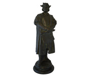 Signed Bronze of Christopher Columbus by Arnoldo Zocchi