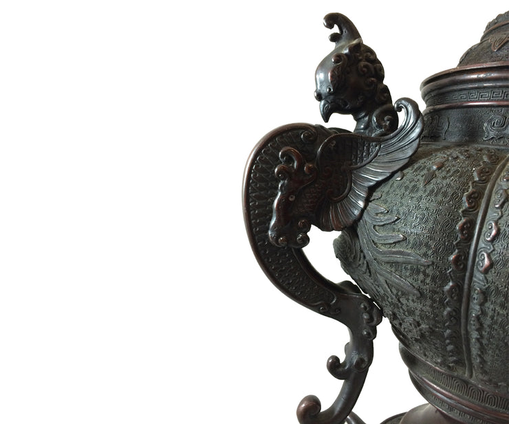 Antique Asian censer