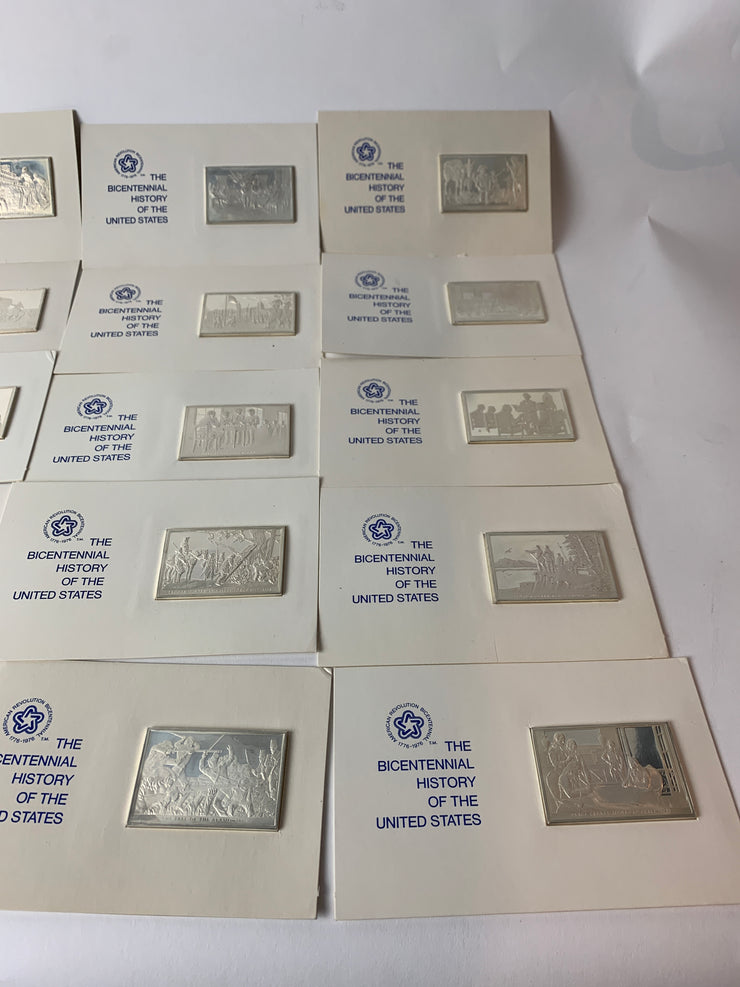 The Franklin mint silver history of the United States
