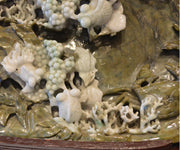 Very Large Chinese Jade Carving