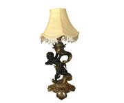 Bronze figurative table lamp