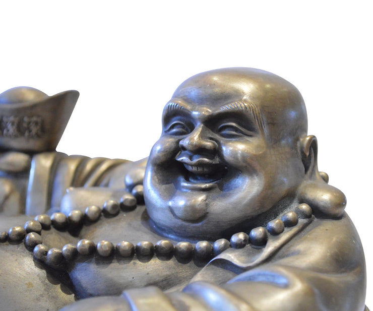 Chinese Seated Happy Fortune Buddha