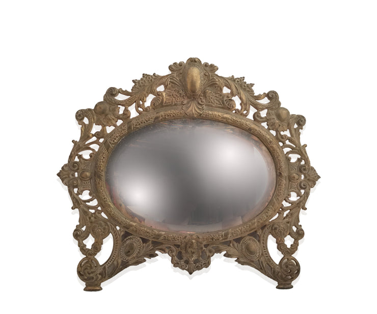 Antique Bronze vanity mirror