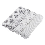 Monochrome Swaddle Four Pack