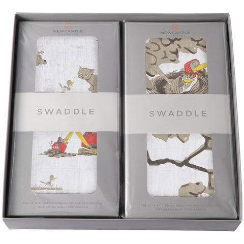 Are You My Mother? 2-Swaddle Gift Set