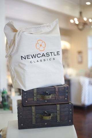 Newcastle Classics Logo Canvas Tote - large