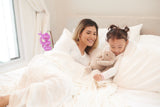 Pristine White Oversized Twin Bamboo Muslin Bed Blanket