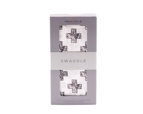 Nordic Stamp Swaddle