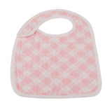 Pop of Pink Snap Bibs Set of 3