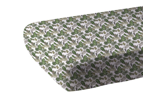 Jurassic Forest Cotton Muslin Crib Sheet