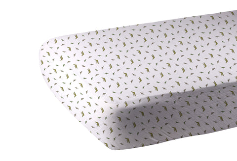 Pteranodon Cotton Muslin Crib Sheet