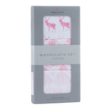 Pop of Pink Washcloth Set
