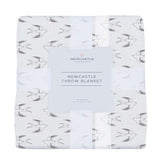 Sparrows Bamboo Newcastle Throw Blanket
