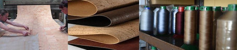 Cork Leather fabric manufacture