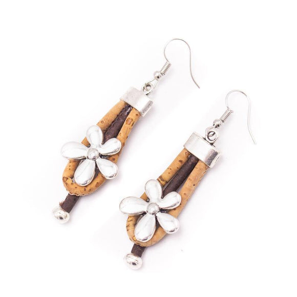 Earrings Daisy Cork Jewellery