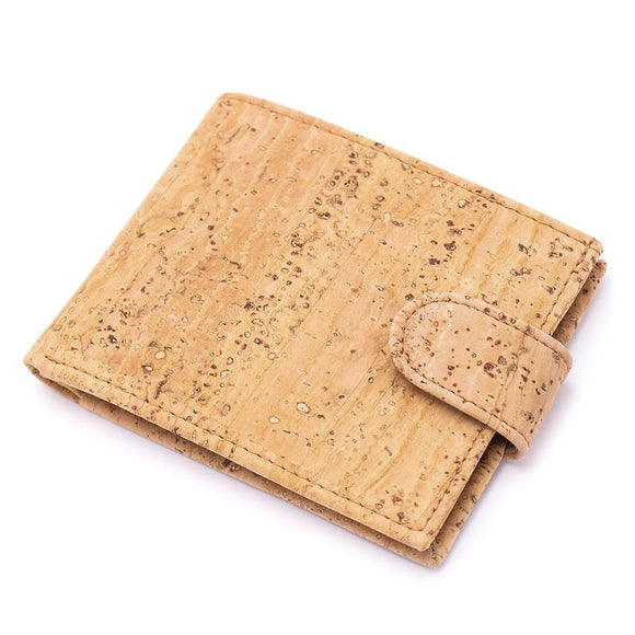 Vegan Wallet Large in Natural Cork Leather