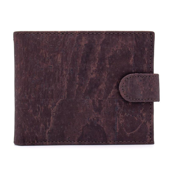 Vegan Wallet Dark Brown