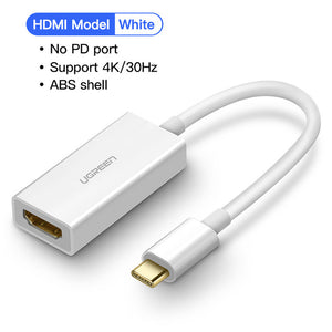 USB C HDMI Cable Thunderbolt 3 For MacBook Galaxy S9 S8 Huawei Mate 20 P20 Pro