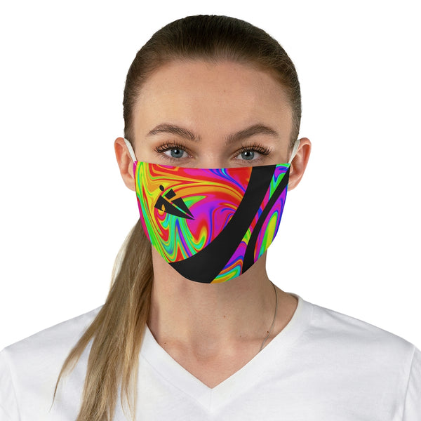 Tie-dye Fabric Face Mask