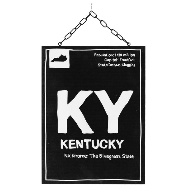 kentucky information | plaque